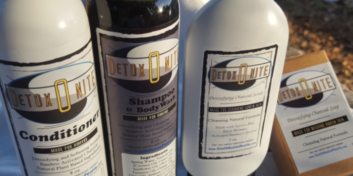 Detoxonite gives Deep Herbal Charcoal Cleaning